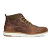 Kožená pánská kotníčková obuv bata, hnědá, 846-3645 - 19