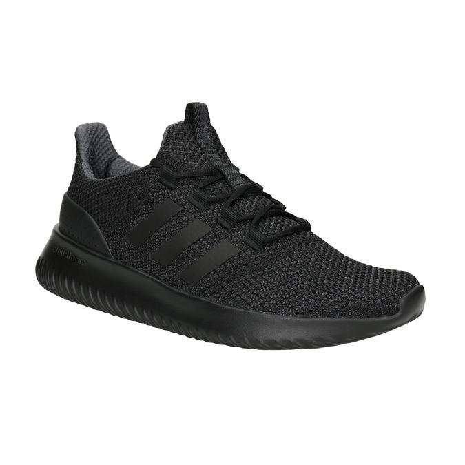 Pánské černé tenisky adidas, černá, 809-6204 - 13