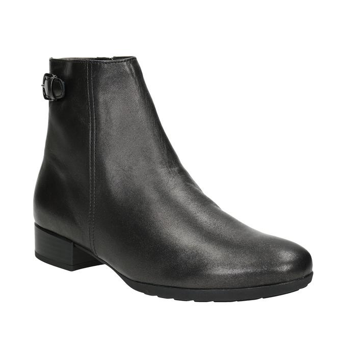 Kožená kotníčková obuv gabor, 616-4008 - 13