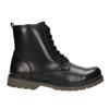 Šněrovací dětská obuv mini-b, černá, 391-6407 - 26