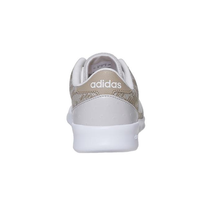Dámské tenisky se vzorem adidas, béžová, 503-3111 - 17