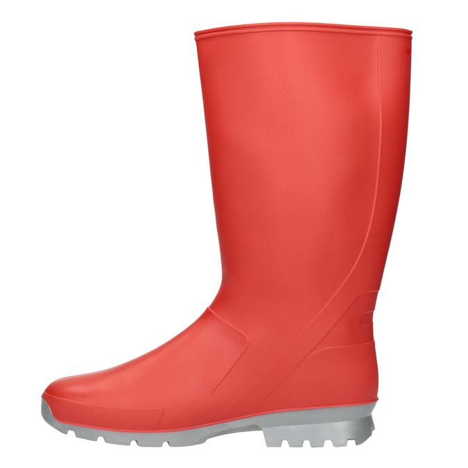 Dámské červené holínky bata, červená, 592-5140 - 15