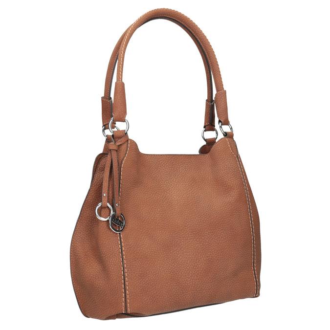 Hnědá dámská kabelka gabor-bags, hnědá, 961-3049 - 13