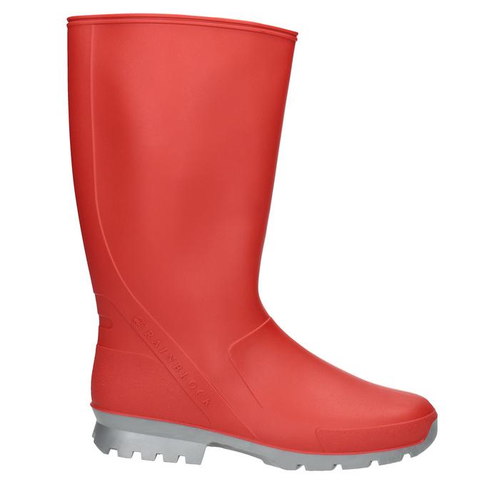 Dámské červené holínky bata, červená, 592-5140 - 26