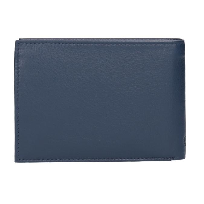 Modrá kožená peněženka bugatti-bags, modrá, 944-9051 - 16