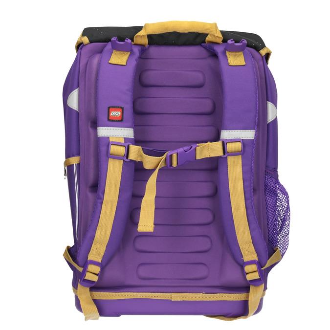 Školní aktovka s pevným dnem lego-bags, fialová, 969-9010 - 16