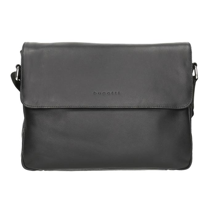 Černá kožená Crossbody taška bugatti-bags, černá, 964-6011 - 26