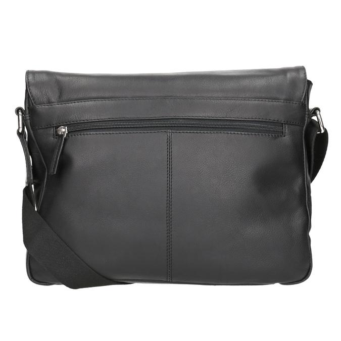Černá kožená Crossbody taška bugatti-bags, černá, 964-6011 - 16