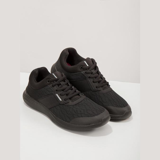 Dámské černé tenisky power, černá, 509-6203 - 19