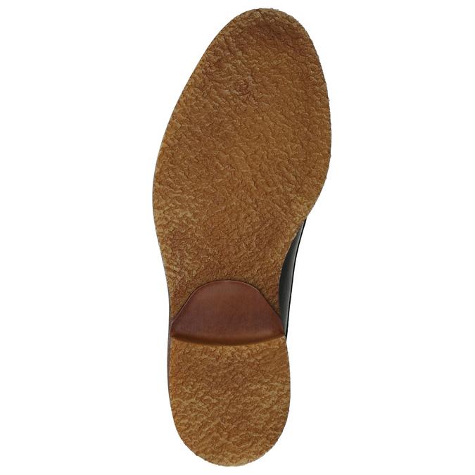Kožené Chukka Boots bata, šedá, 826-3919 - 17