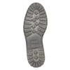 Kožené pánské polobotky bata, černá, 826-6619 - 26