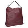 Kožená kabelka v Hobo stylu bata, červená, 964-5261 - 13