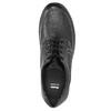 Kožené polobotky s ležérní podešví bata, černá, 824-6925 - 26