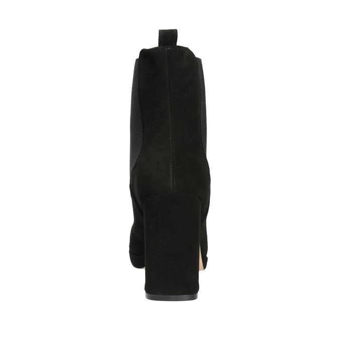 Kotníčkové kozačky na podpatku bata, černá, 793-6704 - 16