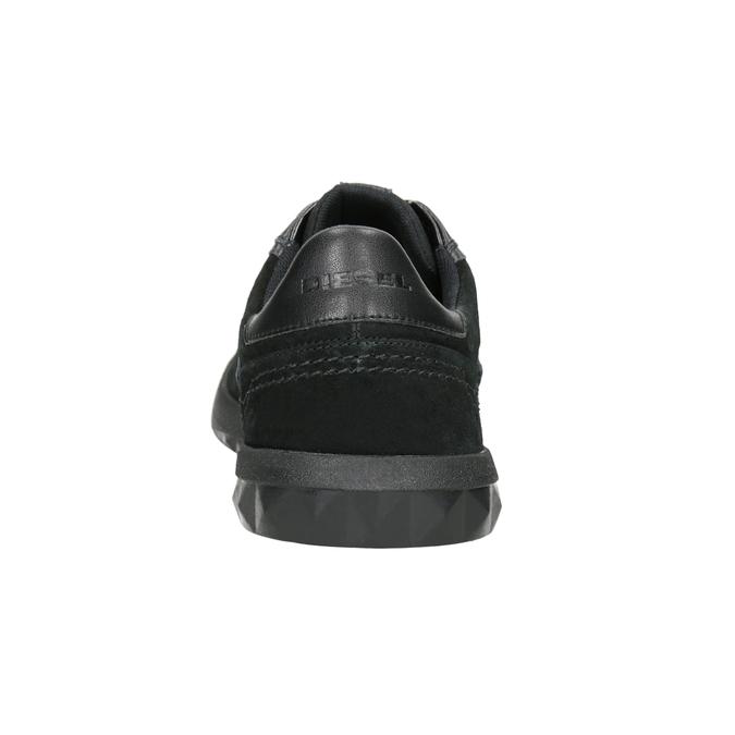 Pánské kožené tenisky diesel, černá, 804-6626 - 16