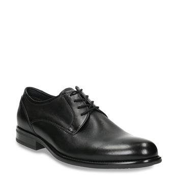 Pánské polobotky v Derby stylu bata, černá, 824-6618 - 13