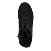 Kotníčková dámská obuv bata, černá, 599-6617 - 26