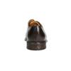 Hnědé ležérní polobotky z kůže bata, hnědá, 826-4914 - 17