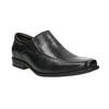 Kožené pánské Loafers bata, černá, 814-6623 - 13