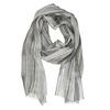 Dámský šátek se žíháním bata, šedá, 909-2625 - 13