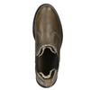 Dámská kožená Chelsea obuv bata, hnědá, 596-7680 - 15