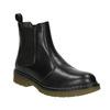 Kožená dámská Chelsea obuv bata, černá, 594-6680 - 13