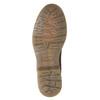 Kožená dámská Chelsea obuv bata, hnědá, 596-3680 - 17