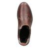 Kožená dámská Chelsea obuv bata, hnědá, 596-3680 - 15