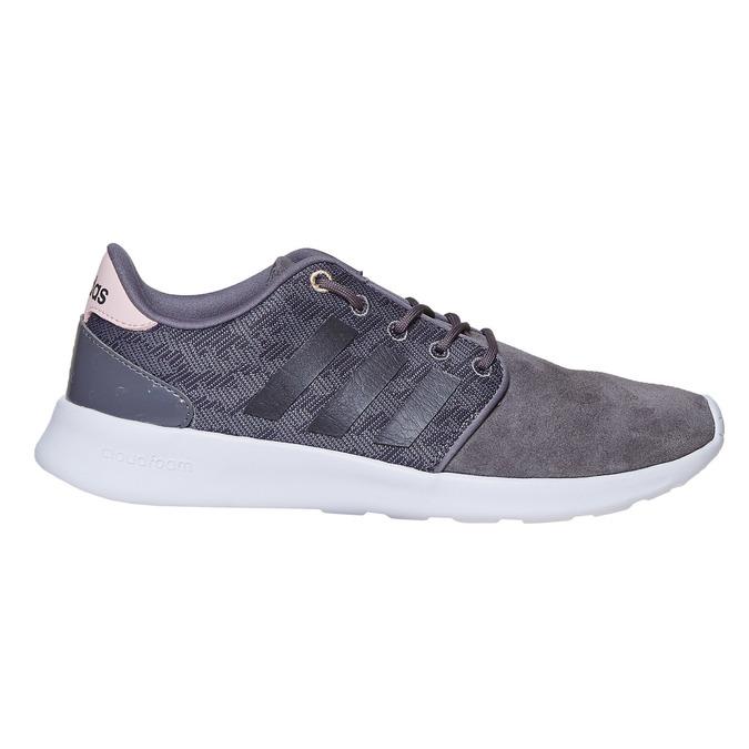 Kožené dámské tenisky adidas, šedá, 503-2111 - 15