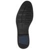 Modré kožené pánské polobotky bata, modrá, 826-9914 - 19
