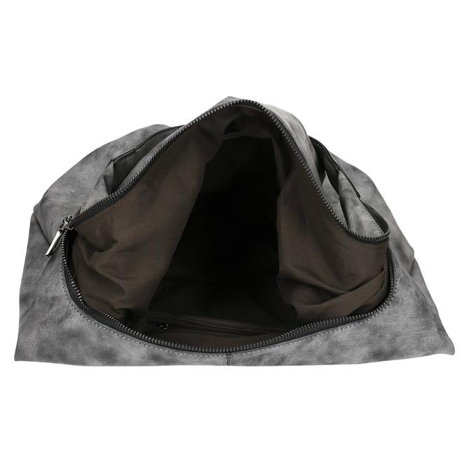 Hobo kabelka s řetízkem bata, šedá, 961-2765 - 15