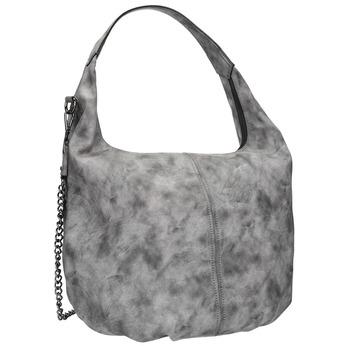 Hobo kabelka s řetízkem bata, šedá, 961-2765 - 13