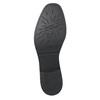 Kožená dámská Chelsea obuv se strukturou bata, černá, 596-6678 - 19