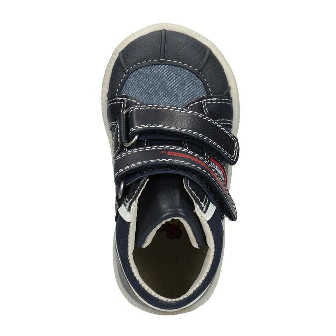 Kotníčková dětská obuv bubblegummers, modrá, 111-9613 - 15