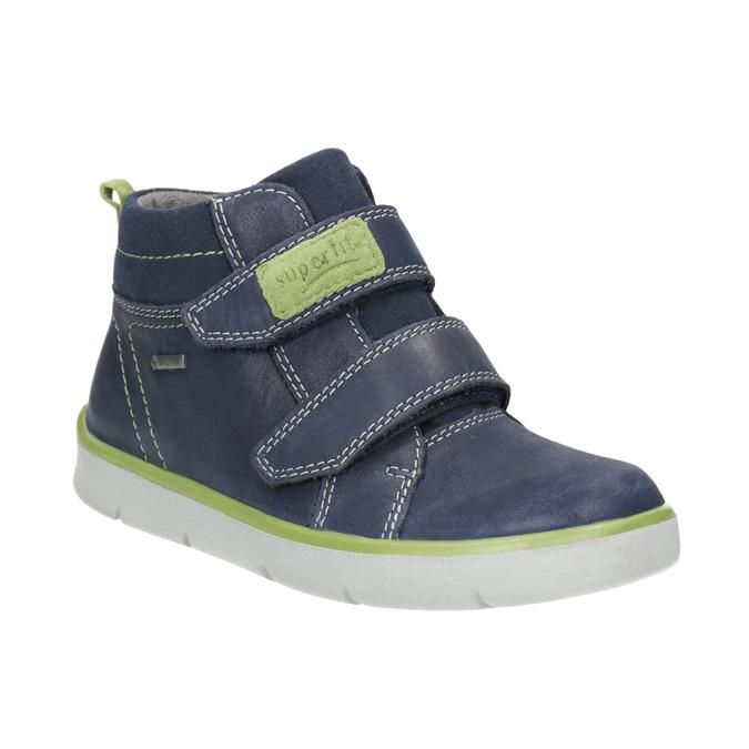 Kožená kotníčková obuv dětská superfit, modrá, 314-9035 - 13