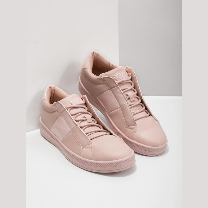 Růžové dámské tenisky, růžová, 501-5171 - 18