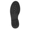 Kožená kotníčková obuv bata, hnědá, 896-3663 - 19