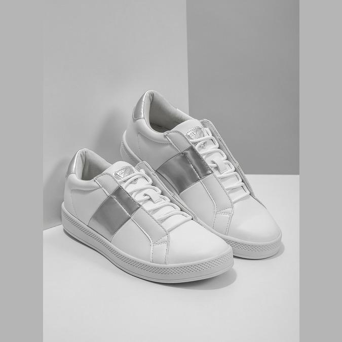 Dámské bílé tenisky atletico, bílá, 501-1171 - 18
