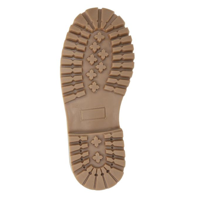 Dětská zimní obuv s kožíškem weinbrenner-junior, modrá, 416-9600 - 19