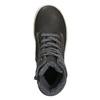 Kotníčková dětská obuv mini-b, šedá, 494-2655 - 26