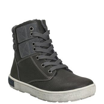 Kotníčková dětská obuv mini-b, šedá, 494-2655 - 13