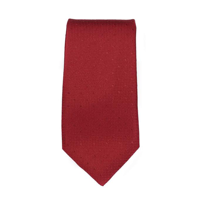 Sada kravaty, kapesníčku a manžetových knoflíčků n-ties, červená, 999-5291 - 26