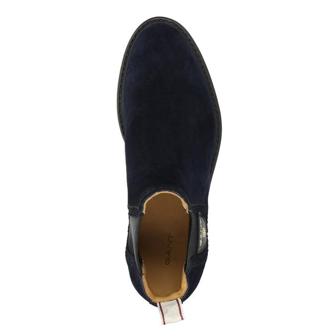 Dámská kožená Chelsea obuv gant, modrá, 513-9086 - 26