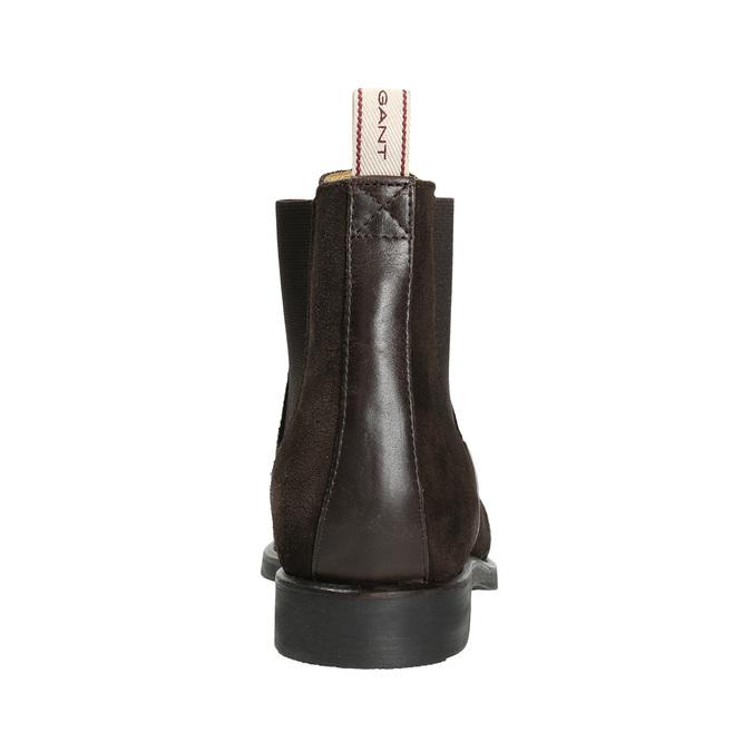Hnědá dámská Chelsea obuv gant, hnědá, 513-4085 - 17