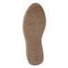 Kožená kotníčková obuv se šněrováním bata, černá, 596-6673 - 17