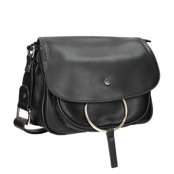 Dámská Crossbody kabelka bata, černá, 961-6161 - 13
