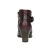 Kotníčková obuv šíře H bata, červená, 696-5625 - 17