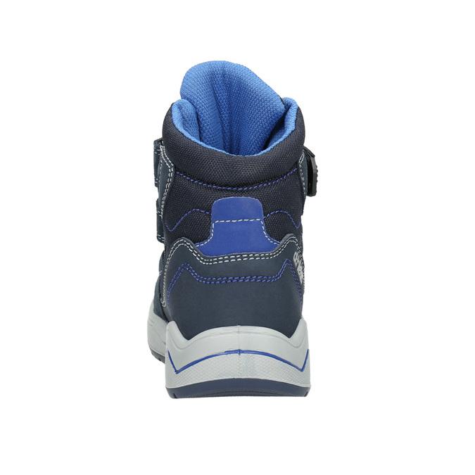 Dětská zimní obuv mini-b, modrá, 293-9615 - 17