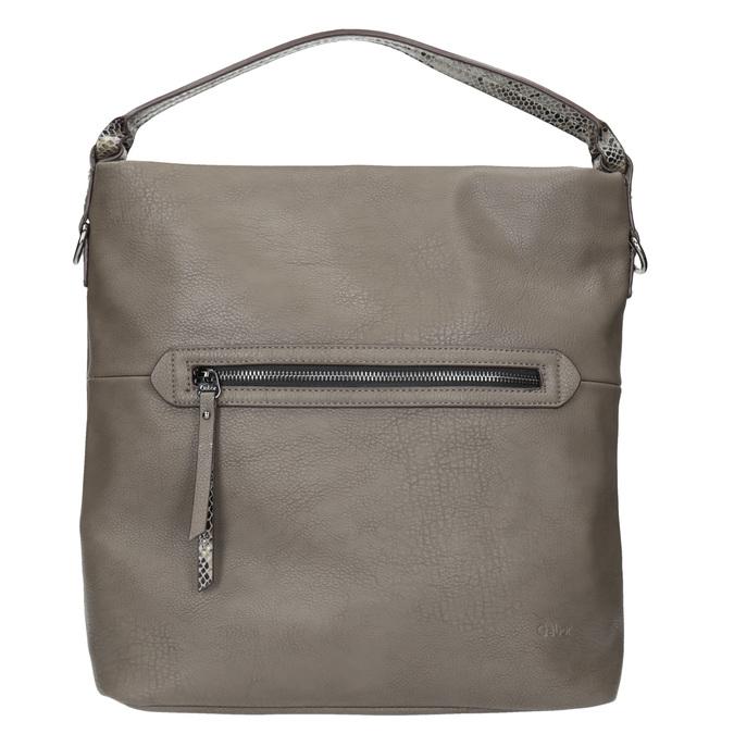 Dámská Hobo kabelka s popruhem gabor-bags, hnědá, 961-8029 - 26