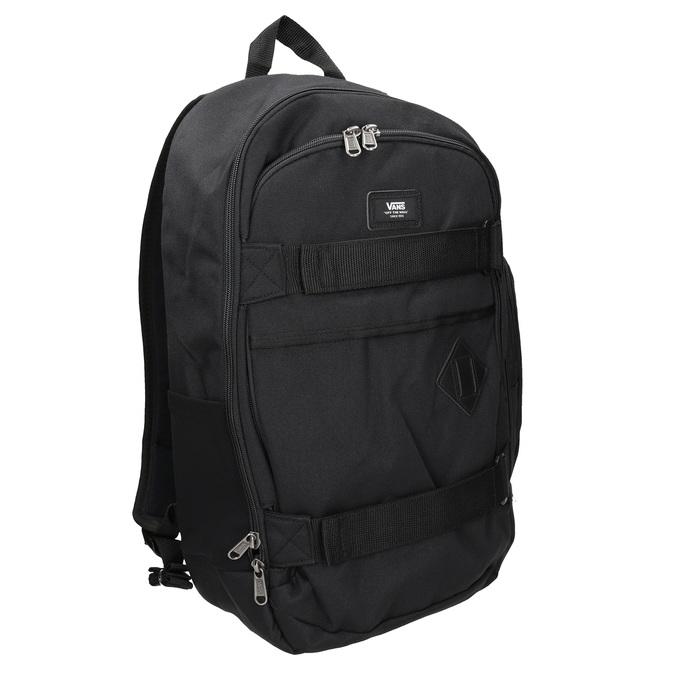 Černý batoh s přezkami vans, černá, 969-6098 - 13